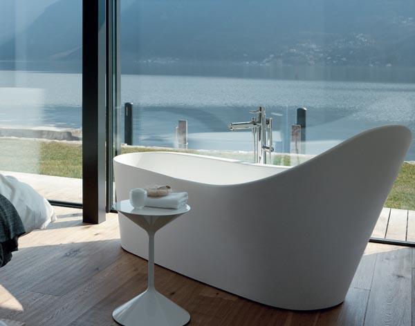 laufen palomba freistehende badewanne 2458020000001 sonderform badewannen badewannen bad. Black Bedroom Furniture Sets. Home Design Ideas