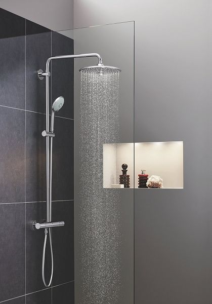 Grohe Euphoria System 260 Duschsystem mit Thermostatbatterie, chrom