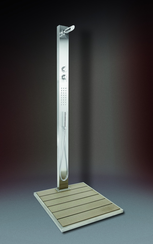 ideal malta modell 70 gartendusche f r kalt und warmwasser inkl wpc bodenplatte kalt. Black Bedroom Furniture Sets. Home Design Ideas