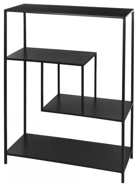 Broste Ryle Regal 111x80cm, schwarz