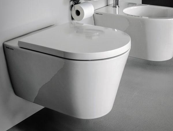 laufen kartell wand wc 54 5x37cm sp lrandlos tiefsp ler b dermaxx alles rund ums bad. Black Bedroom Furniture Sets. Home Design Ideas