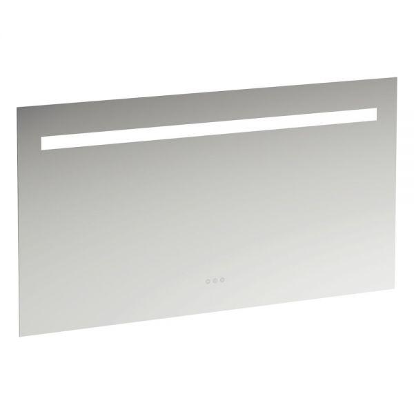 Laufen Leelo Spiegel mit integrierter horizontaler LED-Beleuchtung Farbtemperaturwechsel, 130x70cm