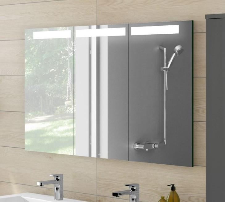 Villeroy&Boch My View In Einbau-Spiegelschrank mit LED-Beleuchtung,  dimmbar, 130x75cm