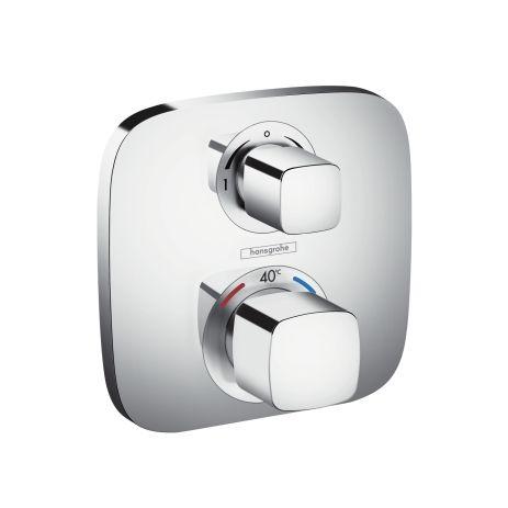 Hansgrohe Ecostat E Thermostat Unterputz, für 2 Verbraucher, chrom