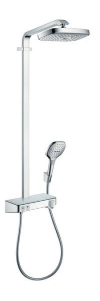 Hansgrohe Raindance Select E 300 2jet ST Showerpipe EcoSmart 9 l/min, chrom
