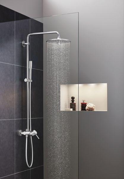 Grohe Euphoria Concetto System 260 Duschsystem mit Einhandmischer für die Wandmontage, chrom 23061002 1
