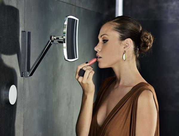 keuco ilook move kosmetikspiegel beleuchtet 5 stufig einstellbare lichtfarbe glasbedienfeld. Black Bedroom Furniture Sets. Home Design Ideas