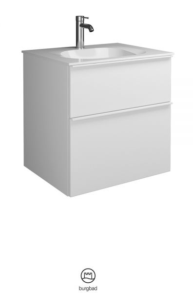 Burgbad Fiumo Waschtisch mit Waschtischunterschrank SFXL062F3956C0001G0223