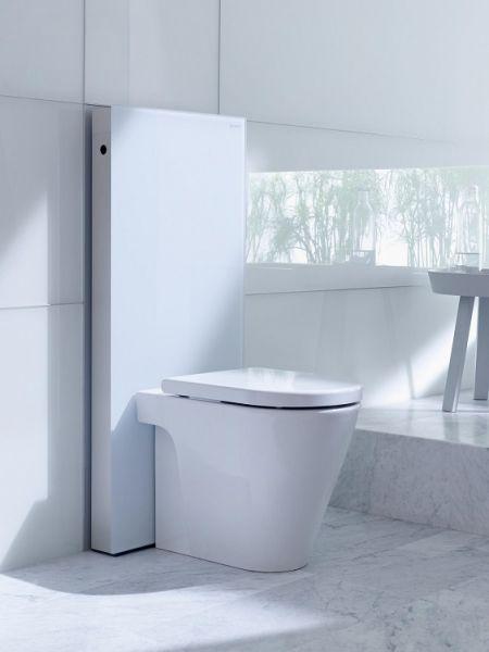 Geberit Monolith Sanitärmodul für Stand-WC und AquaClean Sela, 114cm