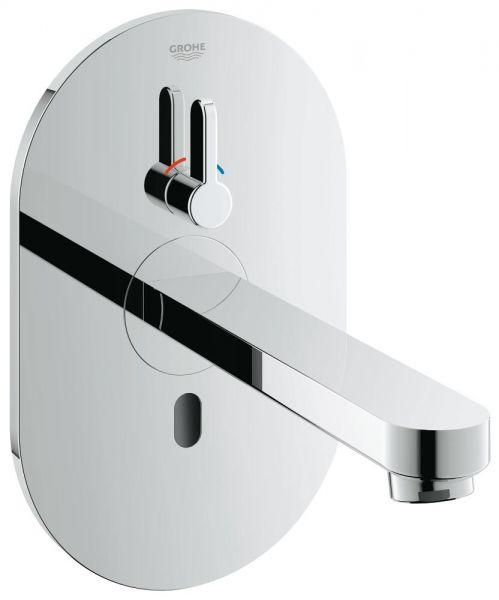 Grohe Eurosmart Cosmopolitan E Infrarot-Elektronik für Waschtisch mit Mischung, Ausl. 172mm, chrom
