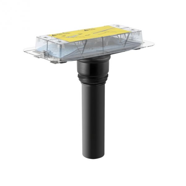 Geberit Rohbauset für Duschrinnen der Reihe CleanLine, stockwerksdurchdringende Installation
