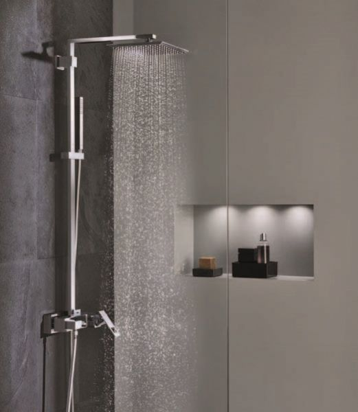 grohe euphoria cube xxl system 230 duschsystem mit. Black Bedroom Furniture Sets. Home Design Ideas