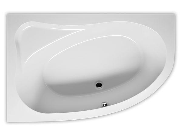 RIHO Lyra Raumsparwanne 153,5x100,5cm rechts, weiß