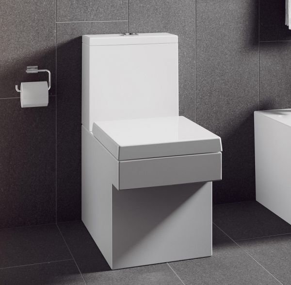 grohe cube keramik keramik stand wc kombination. Black Bedroom Furniture Sets. Home Design Ideas