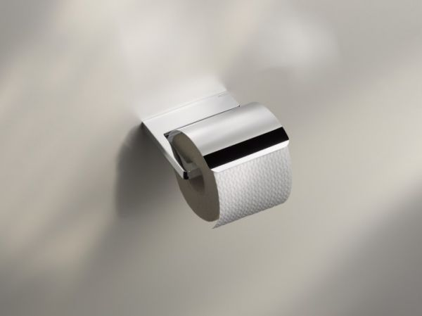 keuco collection moll toilettenpapierhalter mit deckel. Black Bedroom Furniture Sets. Home Design Ideas