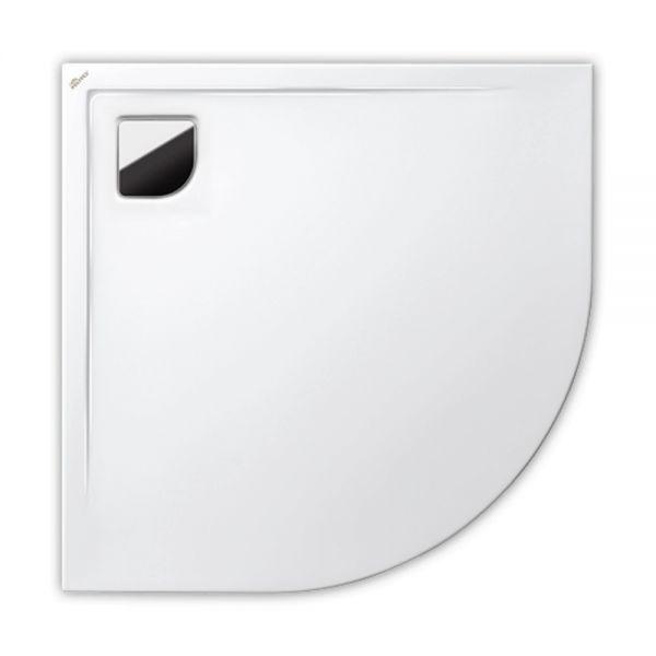 Polypex RONDO 90 Viertelkreis-Duschwanne 90x90x2cm
