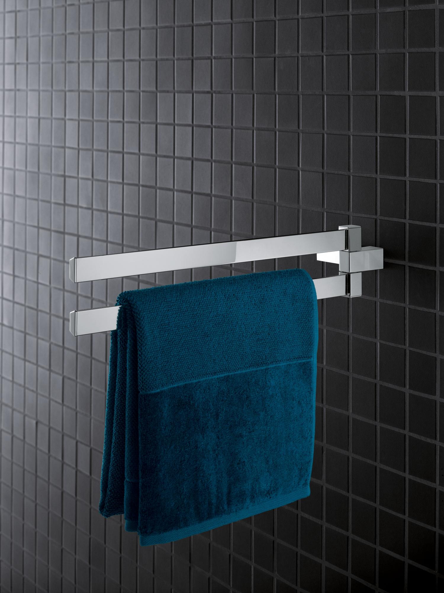 Grohe Selection Cube Doppel Handtuchhalter chrom