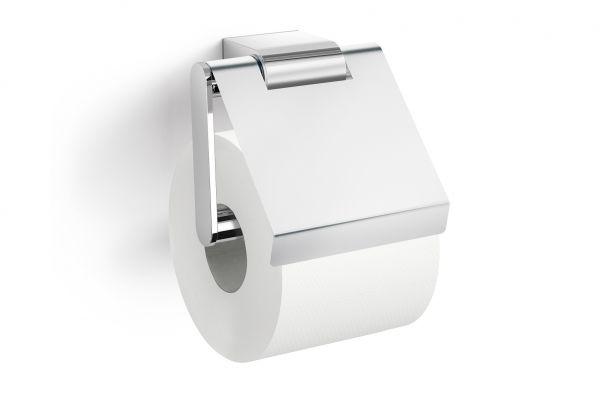 Zack Atore Toilettenpapierhalter Mit Klappe Edelstahl Hochglänzend