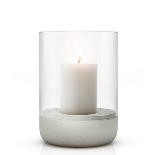 blomus CALMA Windlicht mit Kerze L