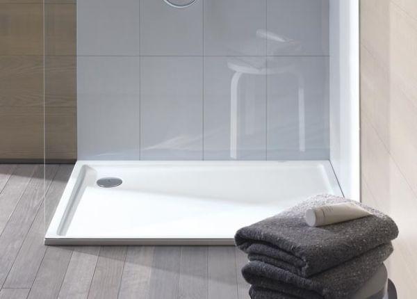 Duravit Starck Slimline Duschwanne Quadrat 900x900x45mm, weiß