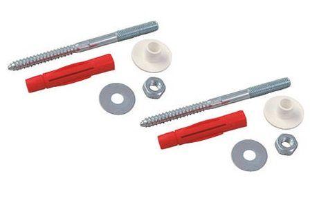 Waschtischbefestigung, 10x140mm Verknotungsdübel und TX-25-Antrieb