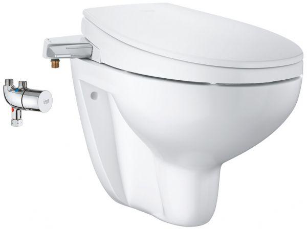 Grohe Bau Keramik Dusch-WC Aufsatz 3-in-1 Set, weiß 39652SH0