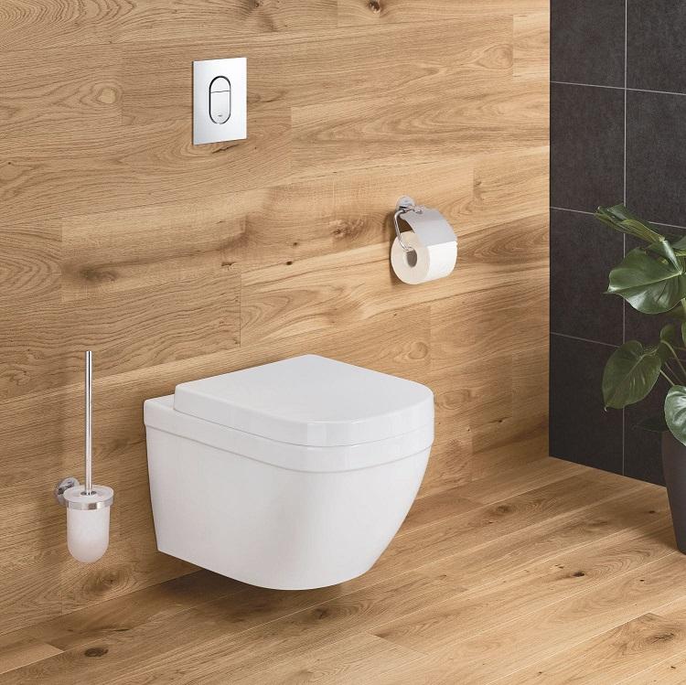 grohe euro keramik wand tiefsp l wc sp lrandlos wei b dermaxx alles rund ums bad. Black Bedroom Furniture Sets. Home Design Ideas