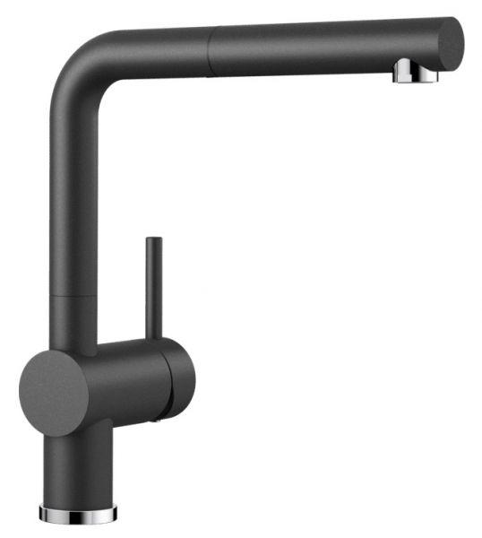 Blanco Linus-S Einhebel-Küchenmischer, SILGRANIT®-Look 516688