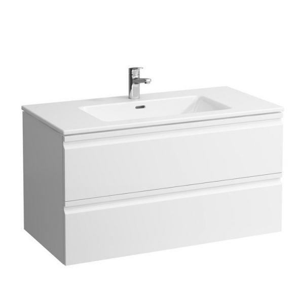 Laufen Pro S Kombipack Waschtisch u. Waschtischunterschrank, 2 Schubladen 100x50cm