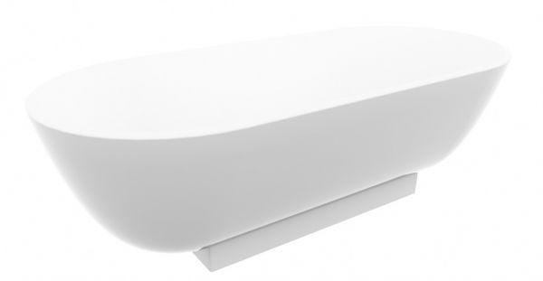 Badewanne Oval Freistehend burgbad crono 2 0 mineralguss badewanne oval freistehend 180x80cm