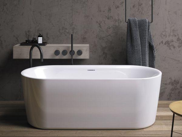 RIHO Modesty freistehende Badewanne 170x76xm, weiß glanzend BD09005 1