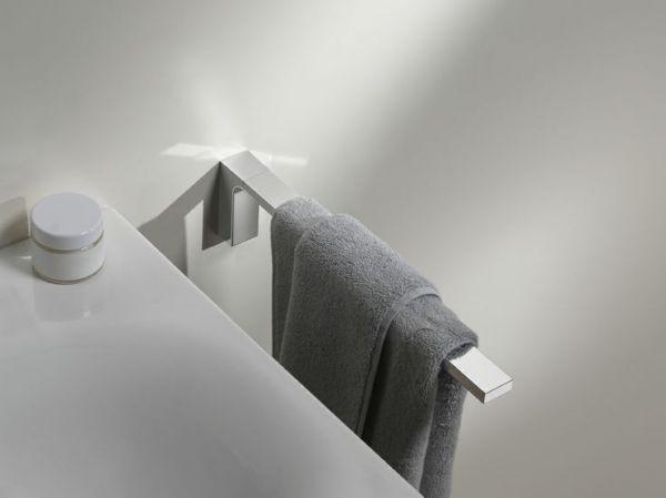 keuco edition 11 handtuchhalter 1 teilig feststehend 340mm chrom 11122010000 b dermaxx. Black Bedroom Furniture Sets. Home Design Ideas