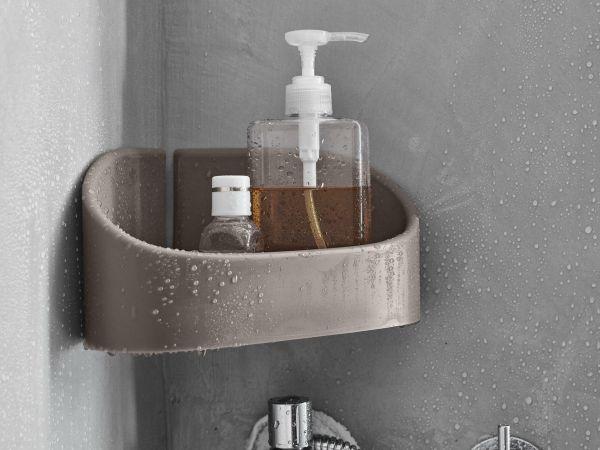 toko design eck duschkorb zum kleben ohne bohren dove grey duschk rbe badaccessoires bad. Black Bedroom Furniture Sets. Home Design Ideas