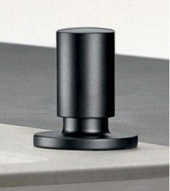 Blanco Comfort Ablauffernbedienung Zugknopf, schwarz matt 238688