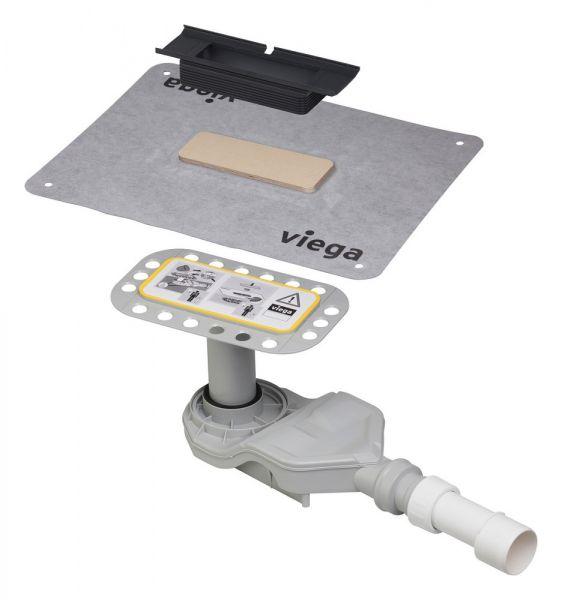 Viega Advantix Cleviva-Duschrinnen-Grundkörper, Sanierungsmodell, BH 70-155mm