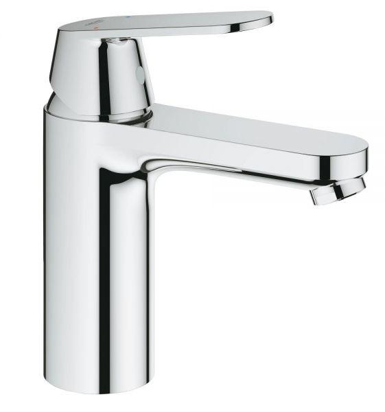 Grohe Eurosmart Cosmopolitan Einhand-Waschtischbatterie, glatter Körper, M-Size, chrom