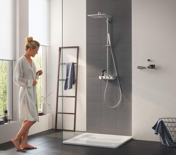 grohe euphoria smartcontrol system 310 cube duo. Black Bedroom Furniture Sets. Home Design Ideas