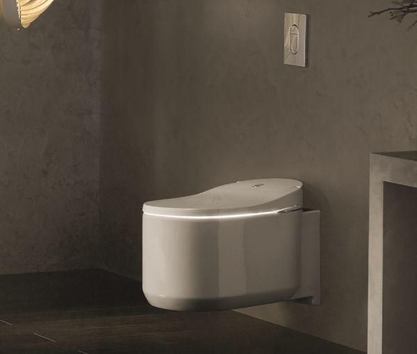 Grohe Sensia Arena Dusch-WC Komplettanlage für Unterputzspülkästen, Wandmontage weiß 39354SH0