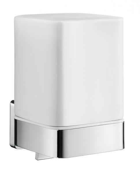 Smedbo ICE Soft Cube Seifenspender 200ml, weiß/chrom
