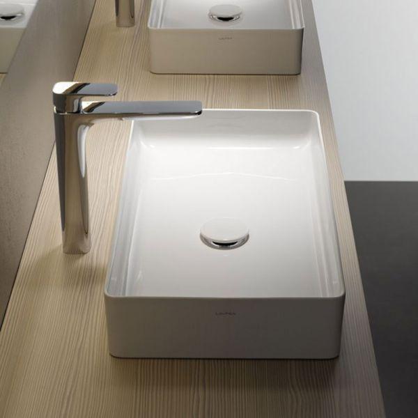 laufen living square saphirkeramik waschtisch. Black Bedroom Furniture Sets. Home Design Ideas