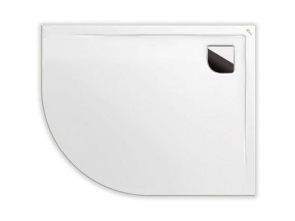 Polypex RONDO 100x80 rechts Viertelkreis-Duschwanne 100x80x2cm