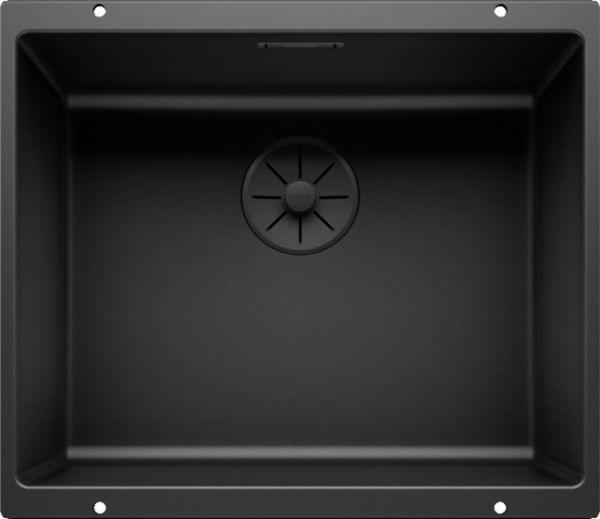 Blanco Subline 500-U Granitspüle SILGRANIT®, ohne Ablauffernbedienung, black edition 526340 1