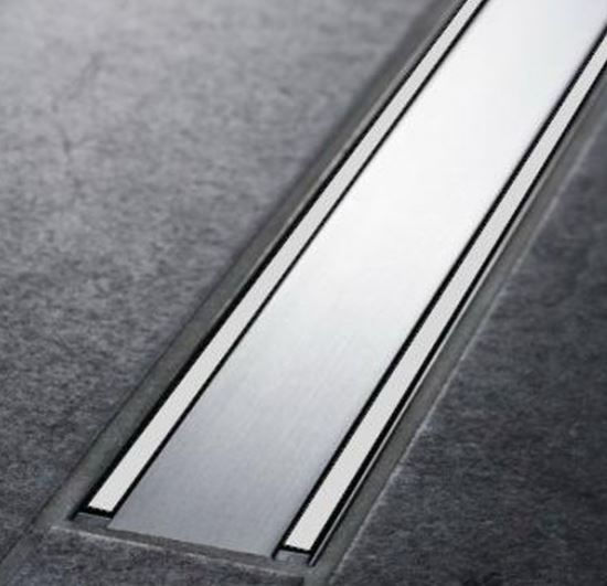 Geberit Duschrinne CleanLine60 30-130cm Metall poliert/Metall gebürstet 154.457.KS.1