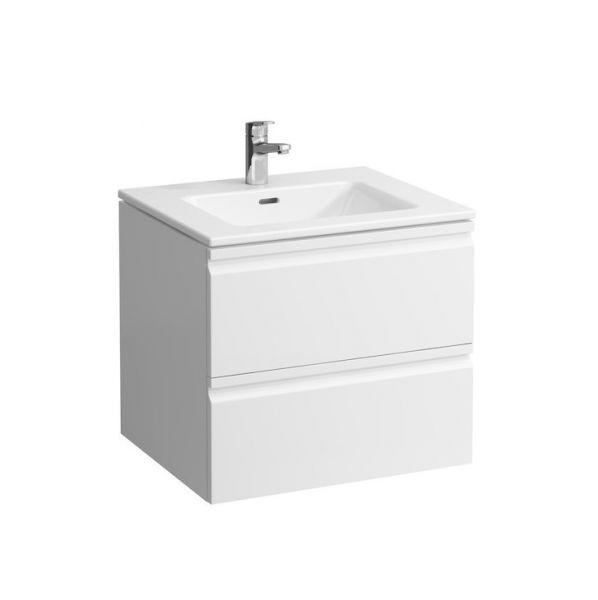 Laufen Pro S Kombipack Waschtisch u. Waschtischunterschrank, 2 Schubladen 60x50cm