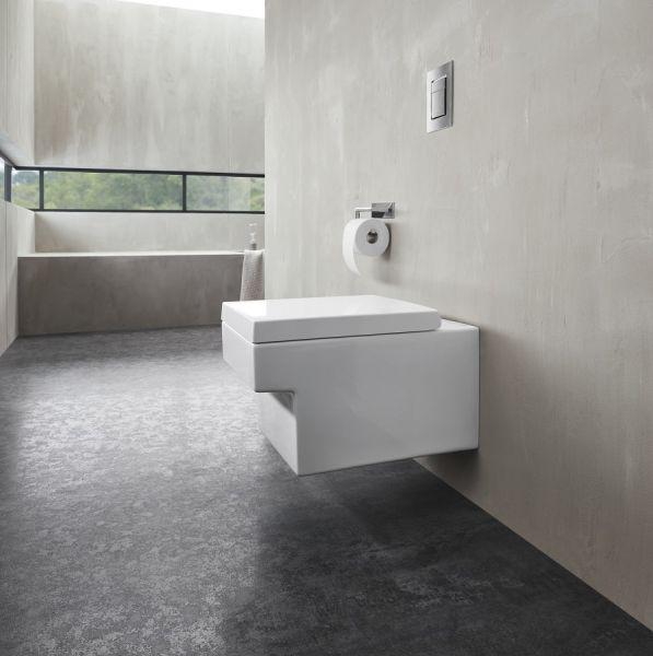 Grohe Cube Keramik Wand-Tiefspül-WC, spülrandlos, weiß PureGuard 3924500H