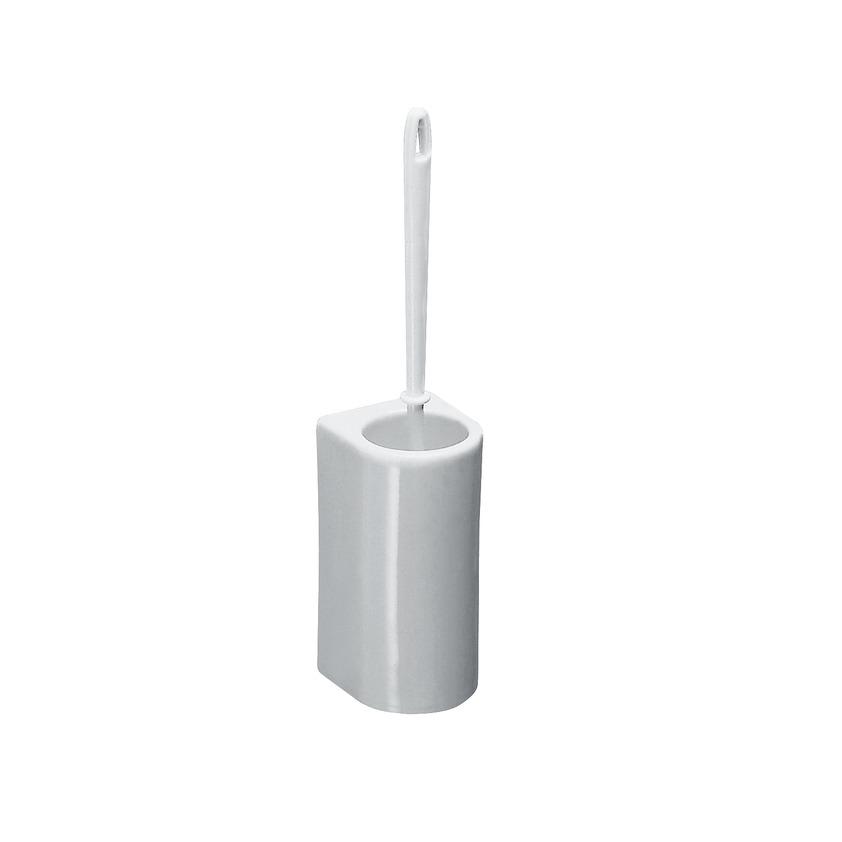Laufen Universal Toilettenbürstengarnitur mit abnehmbarer Keramik,  wandhängend, weiß
