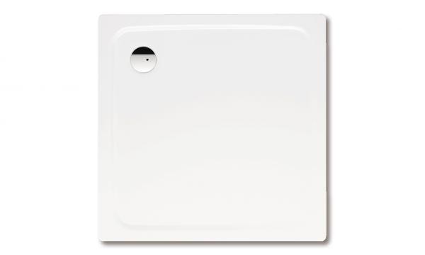 Kaldewei SuperPlan Mod.386-2 Duschwanne mit Wannenträger 80x80x2,5cm, weiß 447548040001