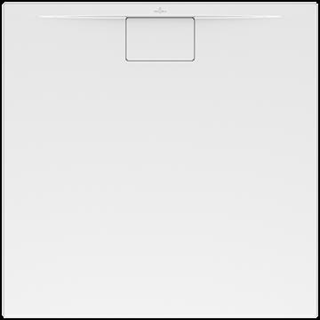 Villeroy&Boch Architectura 90x90cm MetalRim Duschwanne, superflach, Randhöhe 1,5cm weiß