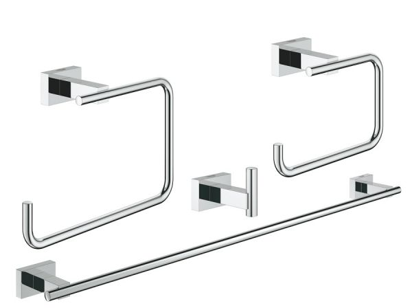 Grohe Essentials Cube Bad-Set 4 in 1, chrom