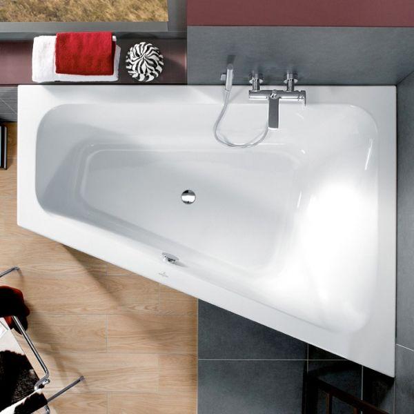Villeroy&Boch Loop&Friends Eck Badewanne, Ausführung rechts 175x135cm, weiß